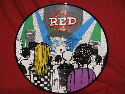 Red Radiohead Black Crowes My Morning Jacket Picture Disc LP Record SCARCE SEE