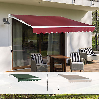 Outdoor Awning Canopy Front Back Porch Window Sun Rain Shade Shelter Cover Patio