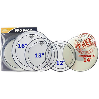 Remo PP-0680-PS Propack (12 13 16 Pinstripe Clear + Free Bx-0114-00)