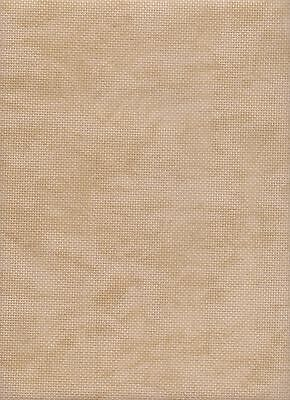 Zweigart 18 count Aida Cross Stitch Fabric FQ 49 x 54 cms Vintage Beige