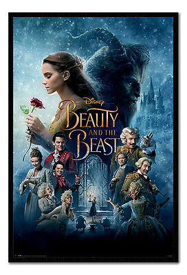 Framed Beauty And The Beast Movie Poster New