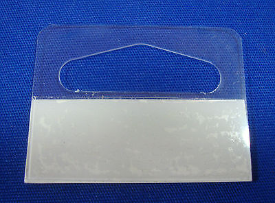 "200 Slotted Hang Tab with Adhesive Slot Style (1-3/16"") Merchandise Price Tags *"
