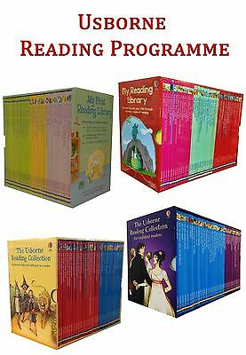 The Usborne Reading Collection Gift Box Set Complete School Pack Early Reader PB