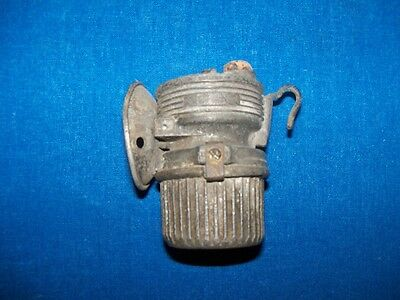 Scarce Antique Coal Mine Mining Fred R Belt Luminum Carbide Lamp Lantern Light