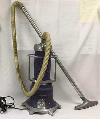 WORKS Vtg Antique ELECTROLUX UPRIGHT VACUUM CLEANER Air-Way Sanitizer Model 55A