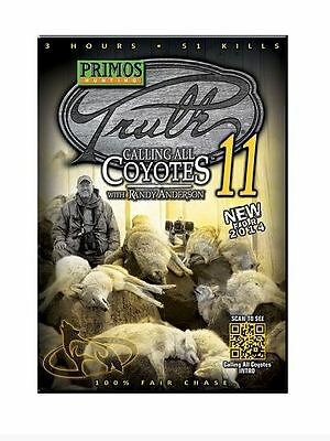 New Primos Truth 11 Calling All Coyotes w/ Randy Anderson DVD 41111