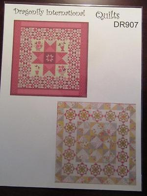 Miniature Dollhouse 1:12 SCALE PRINTED FABRIC QUILT SHEET/WALL HANGING KIT DR907