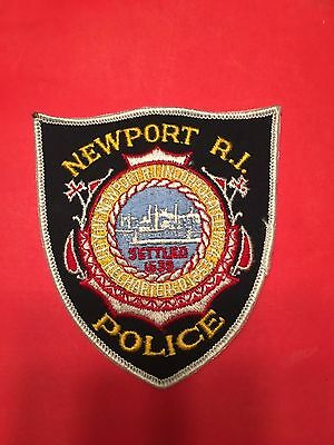 Newport  Rhode Island  Police  Shoulder  Patch