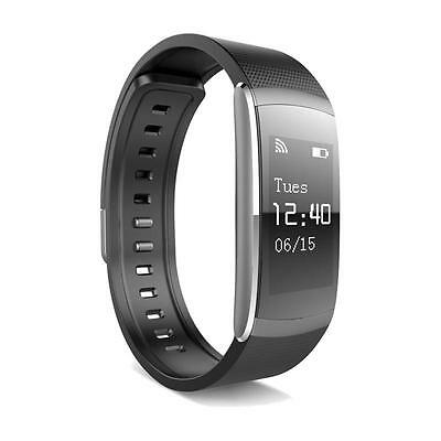 Slim Smart Watch Bluetooth Touchscreen Armband Fitness Wellness iPhone Android