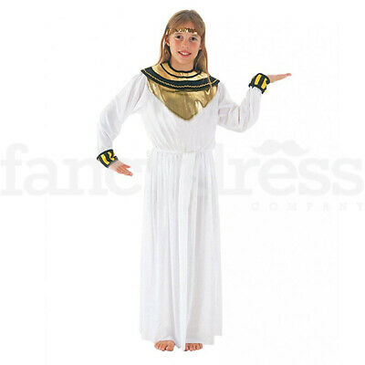 Child Girls Princess Cleopatra Egyptian Queen Fancy Dress Costume Book Day Week