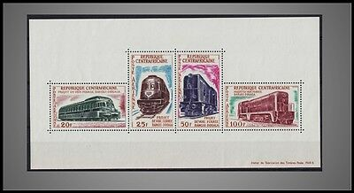 1963 CENTRAL AFRICAN REP.DIESEL ENGINE LOCOMOTIVES BANGUI RAILROAD ST.C16a NH
