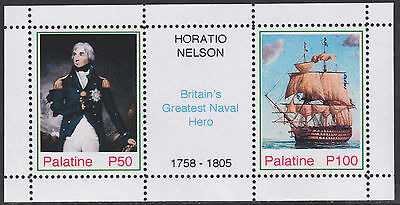 Palatine (Fantasy) 2577 - Horation Nelson - Naval Hero sheetlet