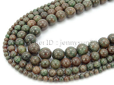 Natural Kasgar Garnet Jasper Gemstone Round Spacer Beads 15.5'' 4mm 6mm 8mm 10mm