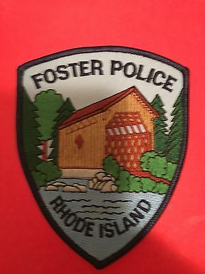 Foster Rhode Island  Police  Shoulder Patch