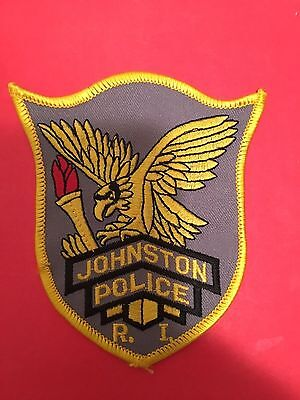 Johnston  Rhode Island  Police  Shoulder Patch
