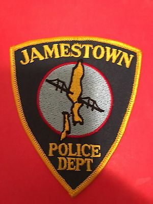 Jamestown Rhode Island  Police  Shoulder Patch