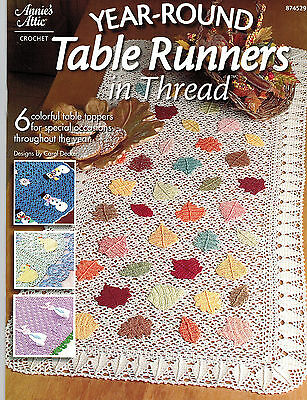 Wholesale Lot: Year-Round Table Runners in Thread Crochet -Case of 72-Ret.$716.4