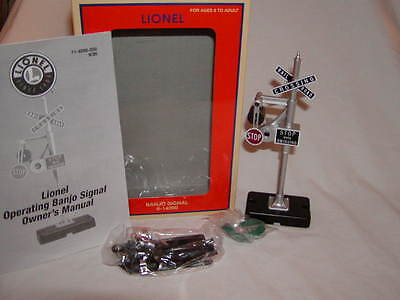 Lionel 6-14090 Banjo Signal with Wig-Wag O 027 New Train Accessory 2013
