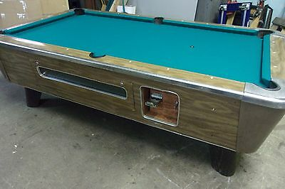 Valley 7 Ft. Coin Op Pool Table #PT166