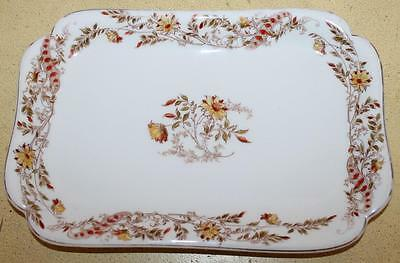 """Antique 19th Century Haviland Limoges China Serving Tray Platter  12"""" x 8"""""""