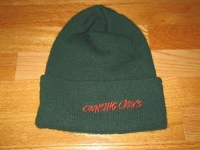 COUNTING CROWS Concert Tour CREW (One-Size) Knitted Winter Hat