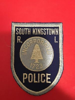 South Kingstown Rhode Island  Police  Shoulder Patch