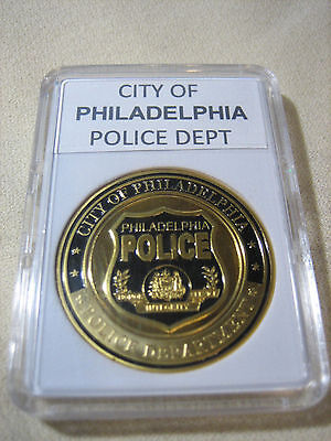 CITY OF PHILADELPHIA Police Dept. Challenge Coin
