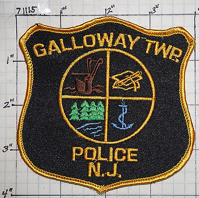 New Jersey, Galloway Township Police Dept Patch