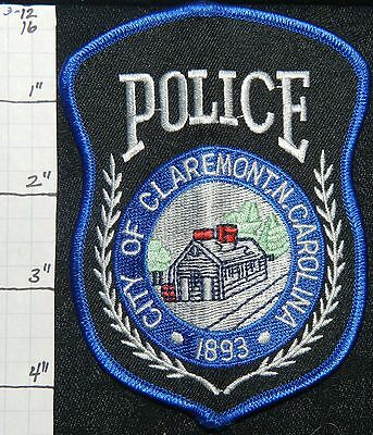 North Carolina, Claremont Police Dept Patch
