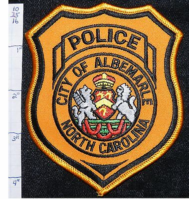 North Carolina, Albemarle Police Dept Patch