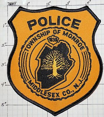 New Jersey, Monroe Township Police Dept Patch
