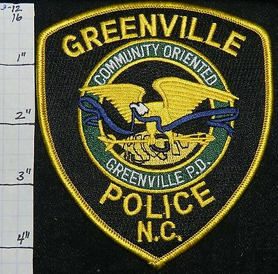 North Carolina, Greenville Police Dept Patch