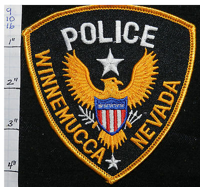 Nevada, Winnemucca Police Dept Vers 3 Patch