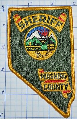 Nevada, Pershing County Sheriff Dept Olive Green Patch