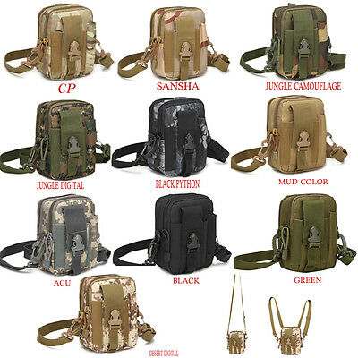 Outdoor Sport Wasit Bag Tactical Molle Army Military Pouch Hiking Bag For iPhone
