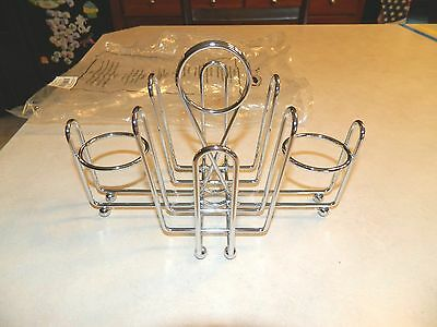 Restaurant SALT & PEPPER  Rack/ Jelly, Sugar, Ketchup Holder NEW  8 Available