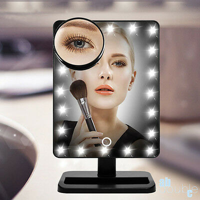 10X Magnifier 16 LED Light Makeup Mirror Cosmetic Vanity Mirror Touch Screen UK