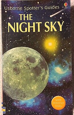 The Night Sky by Michael Roffe Usborne spotters Guide Paperback Book