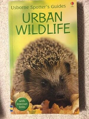 Urban Wildlife - Usborne spotters Guide Paperback Book