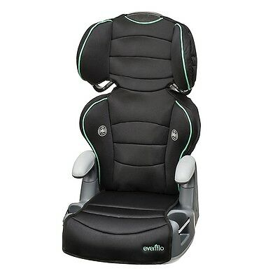 Evenflo Big Kid Amp High Back Belt-Positioning Booster Car Seat - Lagoon