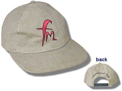 Fleetwood Mac- NEW Embroidered FM Logo Brown Hat / Cap- OSFA FREE SHIP TO U.S.!