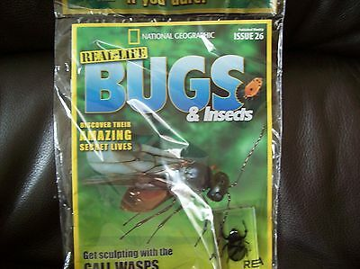 National Geographic Real-life Bugs & Insects magazine Issue 26