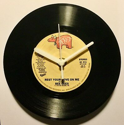 """Vinyl Record Clock Making Kit - Turn Your Album Or 45 Into A Clock - 12"""" 7"""" 78"""