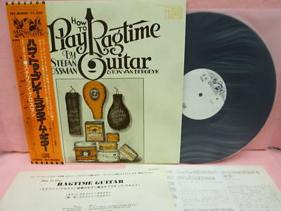 Stefan Grossman-How To Play Ragtime Guitar-Japanese Import On Transatlantic