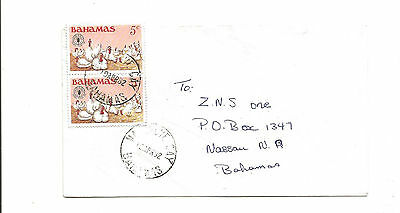 1982 Bahamas cover local use FAO  chickens