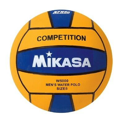 Mikasa USA Water Polo Approved Competition Game Ball Men's Size 5 Yellow Blue