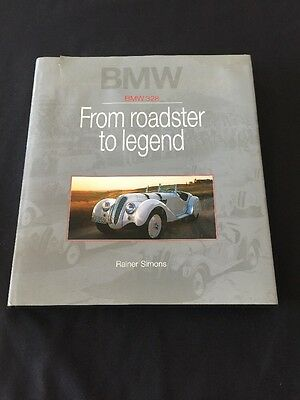 BMW 328 Book FROM ROADSTER TO LEGEND Hardback Small Tear On Cover