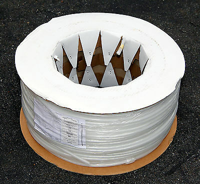 "Reinforced Clear Poly flexible 1/4"" Tubing Hose 0.375 x 0.245""  POE IBD 1000 ft"