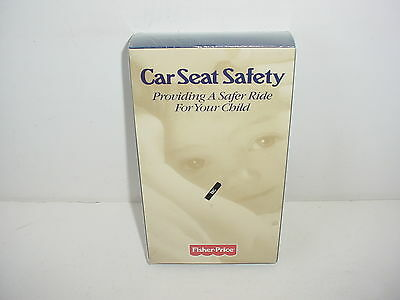 Car Seat Safety Fisher Price Providing Safer Right For Your Child VHS Video Tape