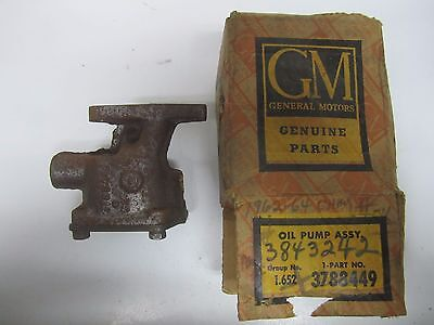 62-63 Chevrolet Chevy II Oil Pump Assembly NOS 3788449